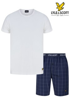 Lyle & Scott Lounge Shorts And T-Shirt Set