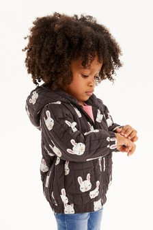 Print Quilted Jacket (3mths-7yrs)