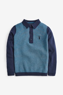 Knitted Poloshirt (3-16yrs)