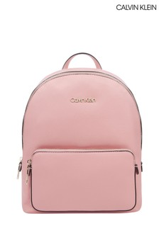 Calvin Klein Pink Campus Backpack