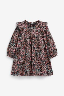 Платье с оборками и цветочным принтом (3 мес.-7 лет)