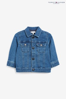 Tommy Hilfiger Blue Baby Flag Denim Jacket
