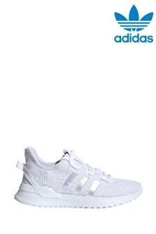 adidas Originals White Irisdescent UPath Junior Trainers