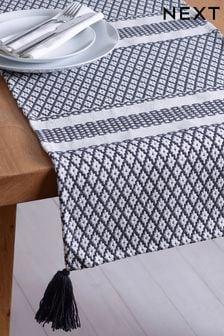 Woven Tile Table Runner