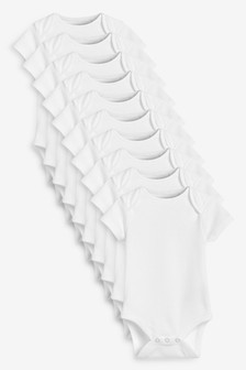 10 Pack Short Sleeve Bodysuits (0mths-3yrs) (263726)   $25 - $28