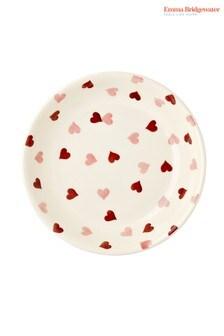 Emma Bridgewater Mittelgroße Pastaschüssel mit Herzmuster, pink