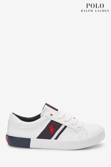 حذاء رياضي Gregot أبيض من Ralph Lauren