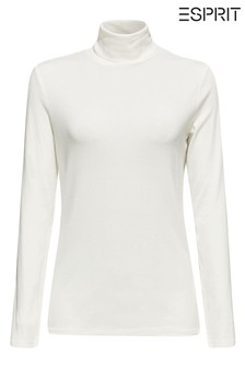 Esprit Natural Viscose Roll Neck Sweater