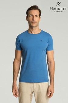 Hackett Blue Logo T-Shirt