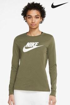 Nike Essential Futura Icon Long Sleeve Tee