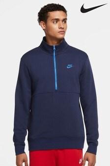 Nike Club Half Zip Top