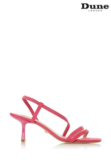 Dune London Miso Pink Synthetic Open Toe Strap Sandals