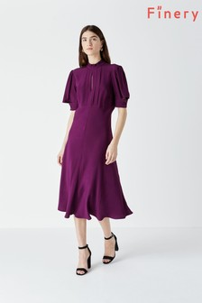 Finery Beaumont Purple Dress