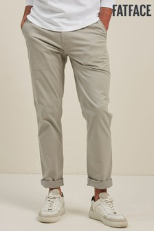 FatFace Grey Slim Stretch Chinos