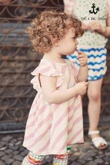 Noé & Zoë Ruffle Baby Dress