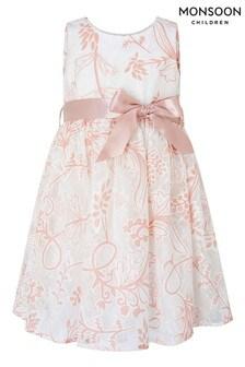 שמלתתחרהבצבע שנהבשלMonsoon דגםAnnie לתינוקות בצבעשמנת