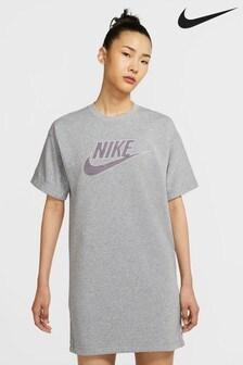 Nike NSW Dark Grey Tee Dress