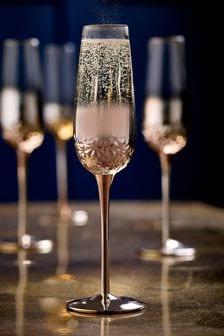 Monroe Set of 4 Flute Glasses