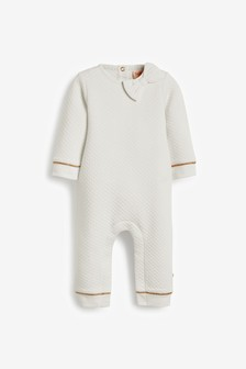 Baker by Ted Baker Quilted Romper