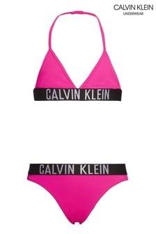 Calvin Klein Pink Intense Power Bikini Set