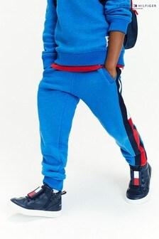 Tommy Hilfiger Blue Flag Insert Sweat Pants