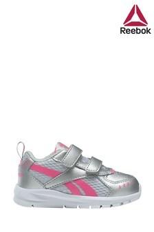 حذاء رياضي للأطفال فضي/ورديXT Sprinter منReebok Run