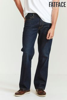 FatFace Denim Boot Cut Dark Vintage Wash Jeans