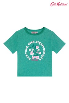 Cath Kidston® You're the Sweetest Thing T-Shirt, Grün