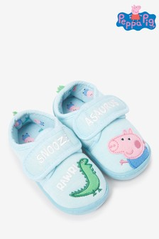 Strap Touch Fasten Cupsole Slippers (Younger)