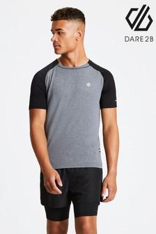 Dare 2b Grey Peerless Lightweight Cycling Running T-Shirt