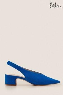 حذاء بكعب عالي أزرق بحزام كاحل خلفيLenna منBoden