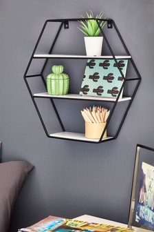 Hexagon Wire Shelf
