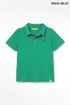 White Stuff Green Kids Peter Poloshirt