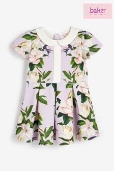 فستان بناتي بياقة زهور من Baker by Ted Baker