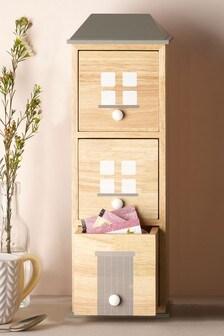 Wooden House Kitchen Storage