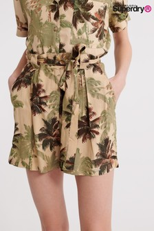 מכנסיים קצרים עם פסים של Superdry דגם Desert