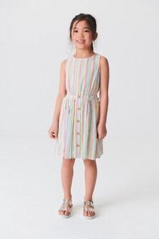 Платье с вырезами (3-16 лет)