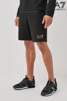 Emporio Armani EA7 Shorts mit Goldlabel