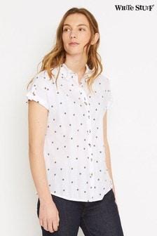 White Stuff Emi Hemd, Weiß