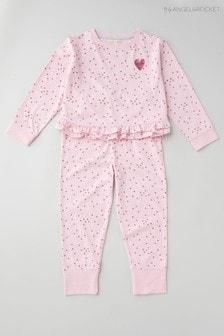 Angel & Rocket Pink Angel Wings Pyjamas