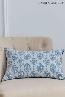 Laura Ashley Blue Gower Seaspray Cushion