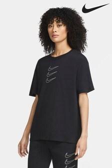 Свободная футболка в стиле бойфренда Nike