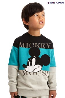 Fabric Flavours Blue Mickey Mouse™ Mode Sweatshirt