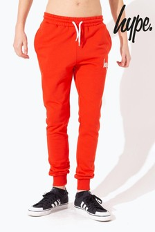 Hype. Red Script Kids Joggers