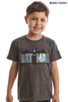 Fabric Flavours Batman® T-Shirt mit Foliendesign, Grau