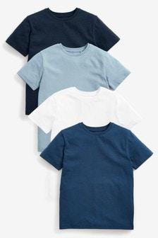 4 Pack T-Shirts (3-16yrs)