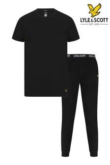 Lyle & Scott休閒套裝,包括束口長褲和T恤