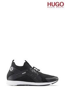 נעלי ספורט_Runn_kncg שלHUGO דגםHybrid בצבע שחור