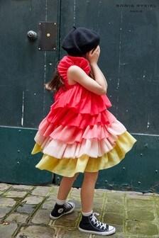 Sonia Rykiel Paris Pink Multi Tulle Layered Dress