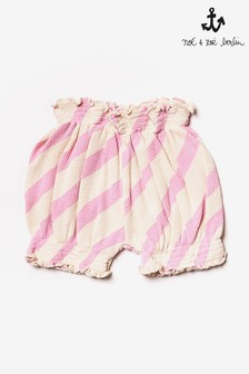 מכנסיים קצרים עם פסים של Noé & Zoë בוורוד